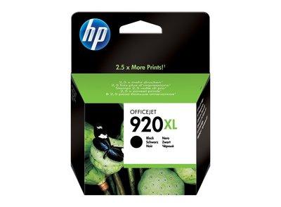 HP 6000/6500w/7000 7500a 原廠黑色墨水匣 CD975AA(920XL)