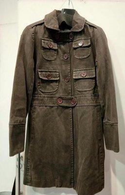 Marc Jacobs 咖啡色厚棉大衣 *大 特 價 3000 *