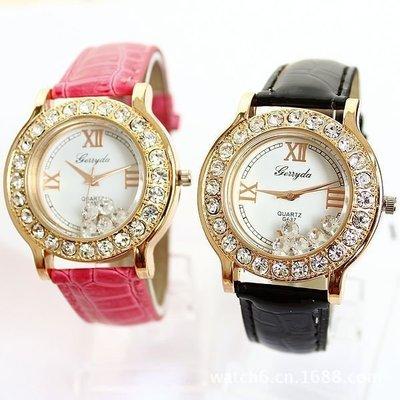 【Asiahito】2015 DIOR時尚鑲鑽手表批發 韓版手表貨源廠家直銷 高檔女表新款熱銷 (BLACK)