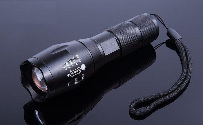 (單支)XM-L2晶片 L2手電筒 伸縮變焦 t6手電筒 自行車 露營 釣魚 Q5頭燈 18650 照明燈  Q5 T6