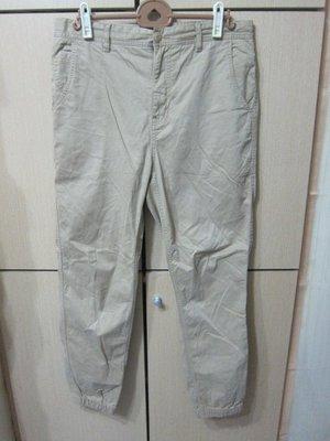 衣市藍~CPO PROVISIONS 休閒長褲 (W33~褲管束口~) (200421-1)