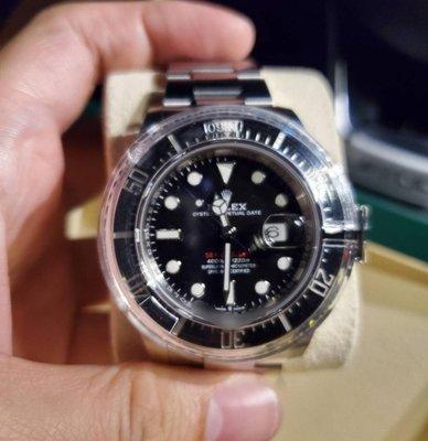勞力士 126600 海使 ROLEX MK2 Sea-Dweller 五十週年 單紅