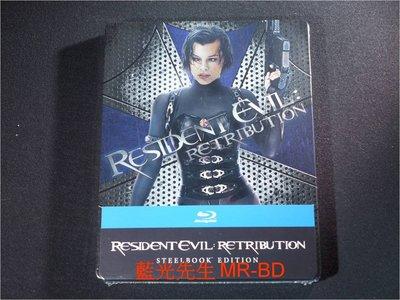 [藍光BD] - 惡靈古堡V:天譴日 Resident Evil V : Retribution 限量鐵盒版