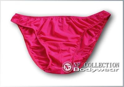 《NANNY_FENG》超優質白領必備舒適半透視三角版 3457桃紅色系 特價出清