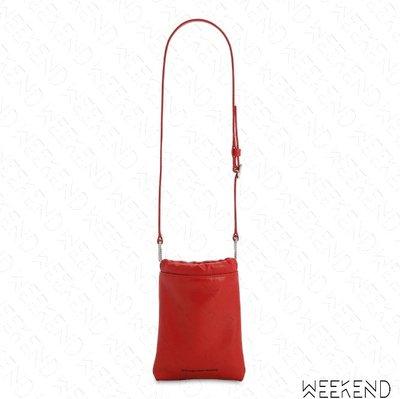 【WEEKEND】 ALEXANDER WANG Ryan 皮革 腰包 肩背包 紅色 20春夏
