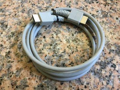 二手Nintendo 任天堂 原廠HDMI訊號線(日本帶回/Wii U主機同捆包裝取下的/高雄可以自取)