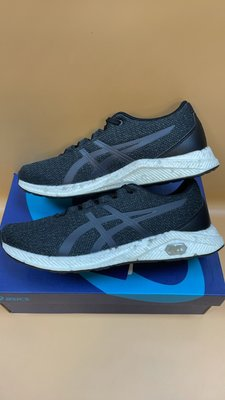 【小黑體育用品】ASICS 亞瑟士 HYPERGEL YU 男慢跑鞋 編織鞋面(黑灰1021A065-002降價出清