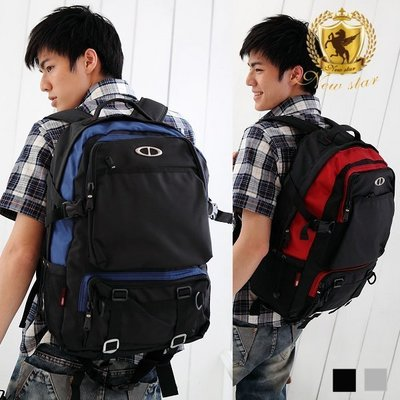 後背包 日系簡約大容量電腦包包 筆電包 公事包 男 女 男包 現貨 NEW STAR BK07