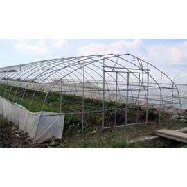 【單體溫室大棚-GP-625-0630】溫室大棚骨架 寬6米長30米間距1米 肩高1.5米頂高2.5米-5101007