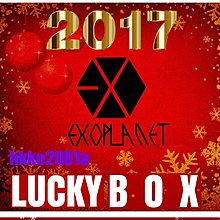 EXO [2017 聖誕快樂 Lucky Box ] 現貨在台-hkko2001a-Winter 幸運盒 週邊應援商品