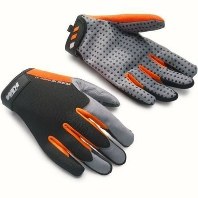 KTM READY TO RACE Mechanic Gloves work 工作手套  防滑  短手套 羅西小舖