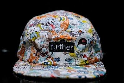 『FAITH GEAR』 Further 五分帽 塗鴉 / 單速車 FIXED GEAR 板帽 TRACK / 帽子