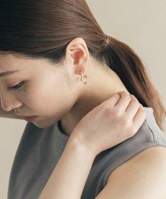 Aple RR~日本日單日系smelly原宿clane氣質小眾簡約質感耳飾耳環耳釘chico
