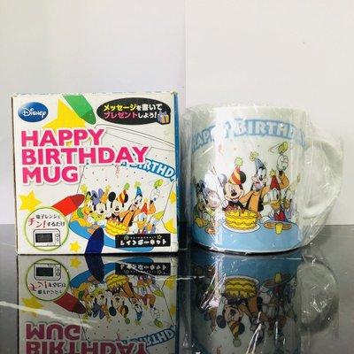 bear   特惠 迪士尼 disney 馬克杯 生日杯 米奇 米妮 布魯托 高飛 唐老鴨 蠟筆 生日快樂