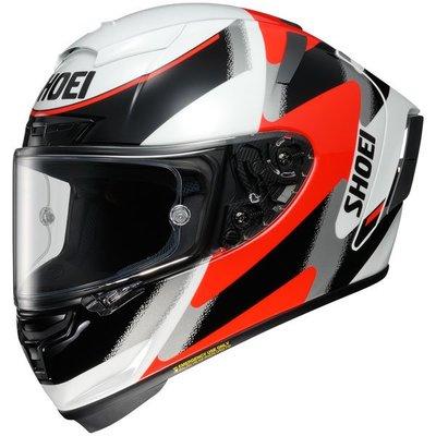 【元素重車裝備】SHOEI X-14 RAINEY 彩繪選手全罩式安全帽~