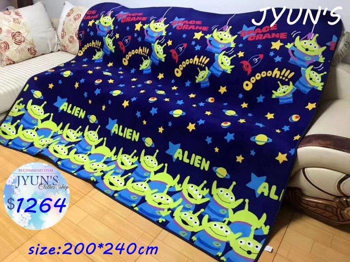 JYUN'S 新品日單三眼仔玩具總動員大款地墊子200*240公分 1款預購