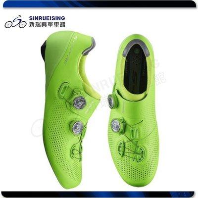【阿伯的店】SHIMANO RC901 公路車鞋 綠色/寬#SU3038