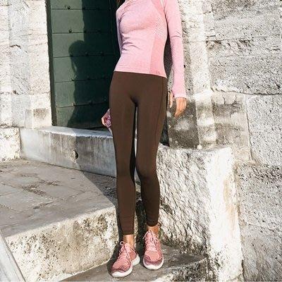運動 褲 長褲-高腰彈力訓練瑜珈女褲子2色73ul29[獨家進口][米蘭精品]