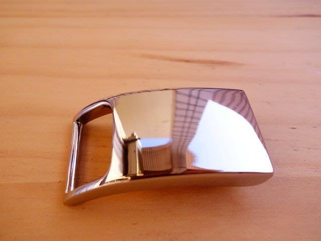 皮帶頭 皮帶扣 皮帶 TSL120 內徑26MM 高級合金 白金色 個性  DIY 皮雕材料 拼布材料
