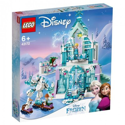 包郵8月新品 LEGO 43172 樂高積木玩具 冰雪奇緣 艾莎的魔法冰雪