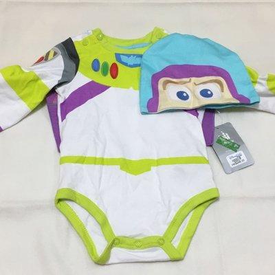 Disney Buzz 巴斯光年 嬰兒服 bb衫 連帽