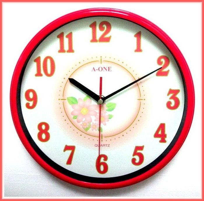 地球儀鐘錶 A~ONE 典雅時鐘 花樣彩鐘  小型掛鐘 活潑 居家空間百搭~超 119~T