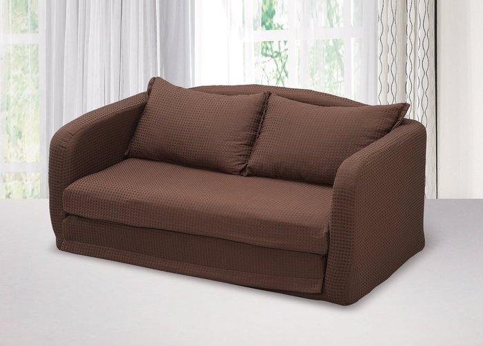 【南洋風休閒傢俱】沙發床系列 -雙人坐臥兩用沙發床    套房沙發 (金500-1)