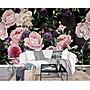 5Cgo【宅神】歐式牡丹壁畫美式花卉牆布客廳...