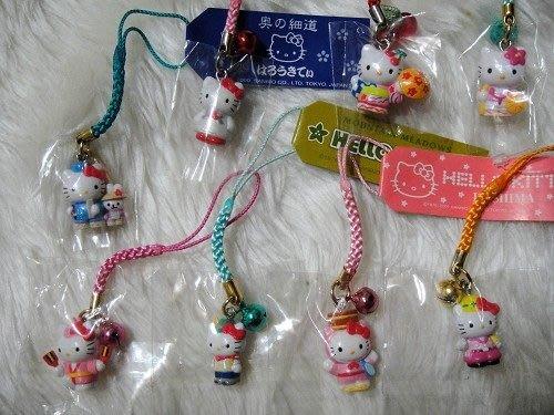 香草貓樂園 Hello Kitty限定造型手機吊飾附送防塵塞