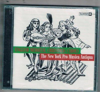 [鑫隆音樂]西洋CD-English Medieval Christmas Carols  {TCD1056} 全新
