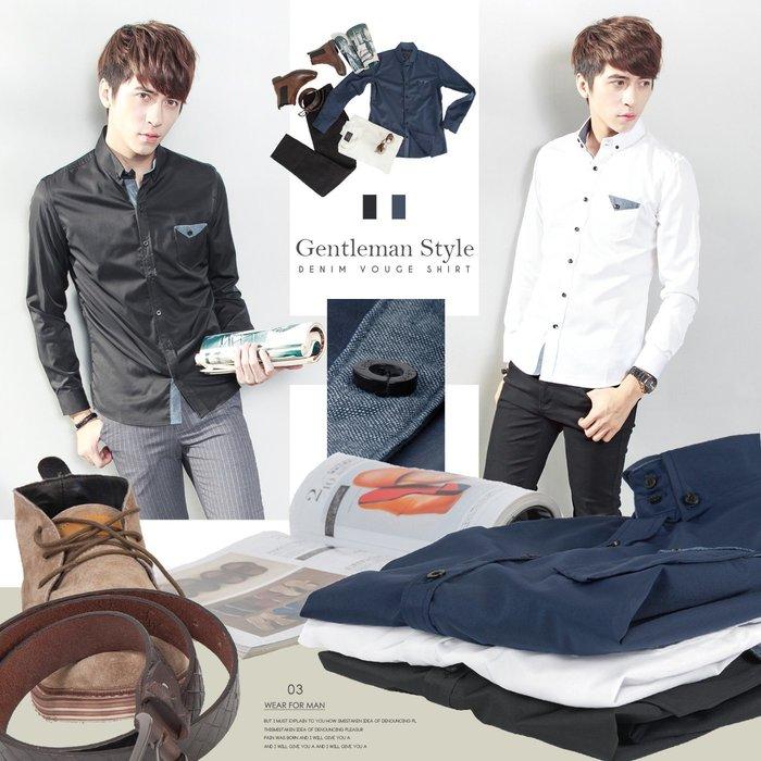 。SW。【K61322】正韓 韓國製 雅痞時裝 修身顯瘦 質感平滑襯衫布 觸感極佳 微彈防皺 3色 小立領素面長袖襯衫