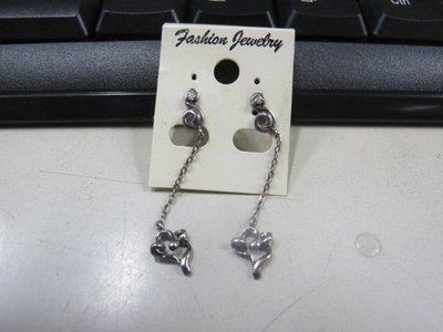 二手舖 NO.4517 時尚造型耳環 耳針 耳鉤 便宜賣 首飾飾品