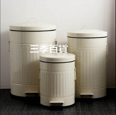 三季復古羅馬紋靜音緩降腳踏垃圾桶 廚房家用簍【20升加厚靜音】❖879
