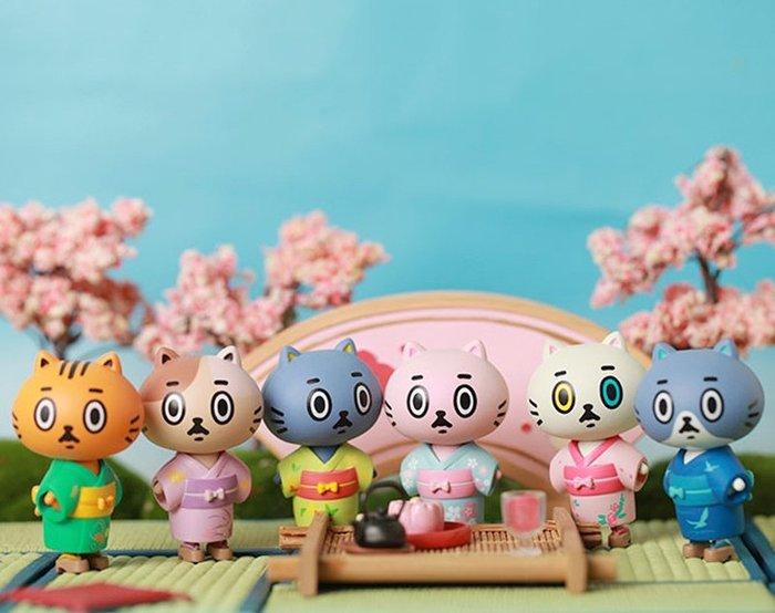 (記得小舖)正版CANDYBOX 干支貓 和服系列-飛鳥 可愛貓扭蛋玩具 共1支 台灣現貨