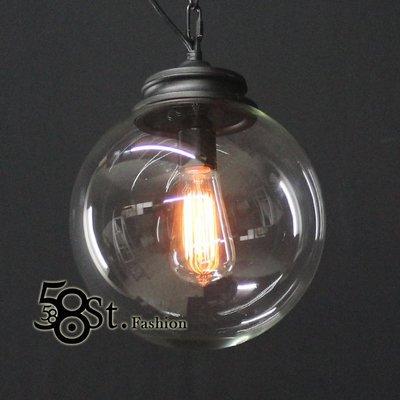 【58街】義大利設計師款式「愛迪生球泡吊燈」低調奢華,複刻版,GH-301