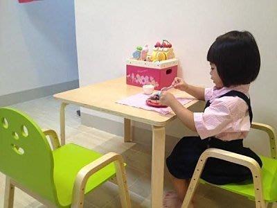 韓國 dholic 方桌 60X60x45cm+皮革軟墊版微笑椅X2  自取免運賣場