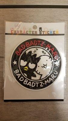 XO Sticker 襟章 厚身貼紙 交叉窿 Bad badtz maru  玩具 酷企鵝 Toy Sanrio