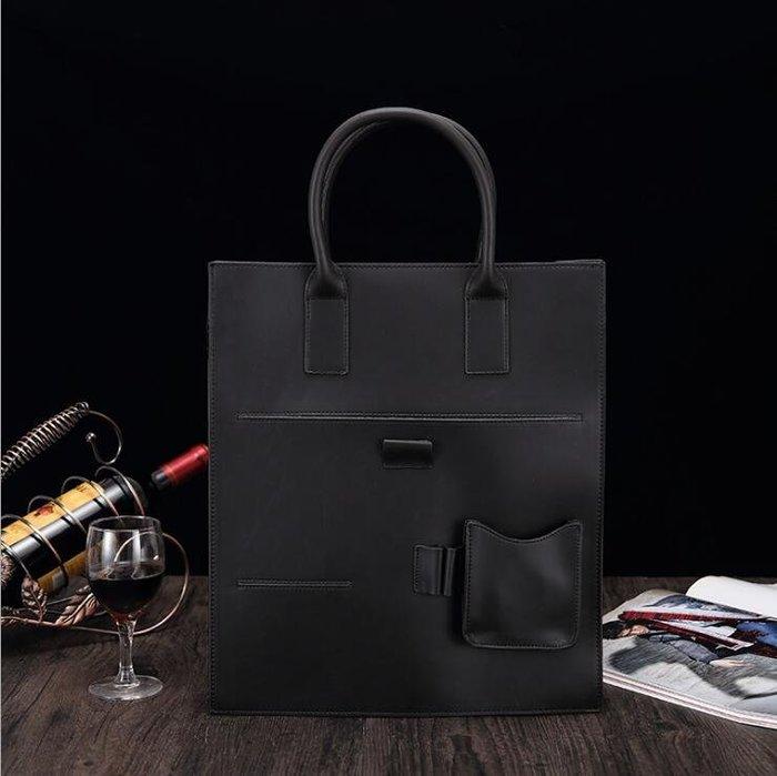 ☆Tide man☆ 18BAOK1395 新款男士手提單肩斜跨包商務公事包外貿亞馬遜皮包文件包