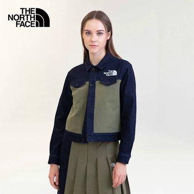 The North Face S21 JAN NEW ARRIVAL 5AWH 牛仔襯衫外套 兩色