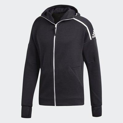 【Footwear Corner 鞋角 】Adidas Z.N.E. Hoodle Black 3.0 連帽外套