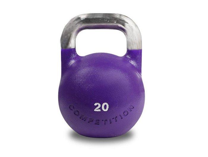XOANON 洛恩耐運動健身 壺鈴20kg 競技壺鈴 壺鈴20公斤 專業壺鈴competition kettlebell