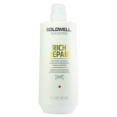 蓁美髮藝『洗護品』GOLDWELL 歌薇水感洗髮精1000ML*乾燥受損髮洗髮適用*