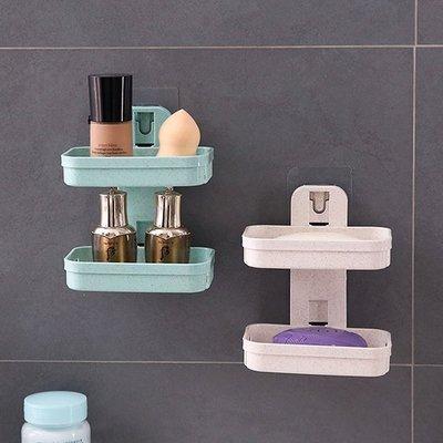 Color_me【X008】 小麥壁掛肥皂架 肥皂盒  肥皂架 瀝水架 置物盒 置物架  收納架 香皂盒 菜瓜布架 掛