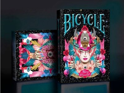 【USPCC 撲克】BICYCLE MAD WORLD Playing Cards 瘋狂世界