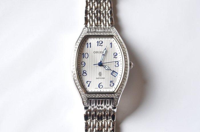 ORIENT日本原廠奢華石英錶款,銀色 (HT7WX25S)
