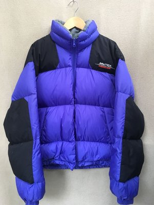 90's style NAUTICA 羽絨外套(lo-life/vintage/the north face/古著)