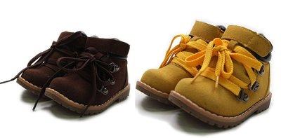 《公主&王子的穿衣鏡》正韓Juwonsa冬季男童帥氣休閒短靴(咖啡210)~全新品出清~一元起標
