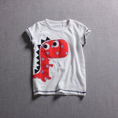 【Mr. Soar】 **清倉** C499 夏季新款 歐美style童裝男童短袖T恤 現貨