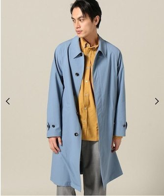 【傑森精品】日本潮牌 INHERIT 日式 日系 韓版 春季 薄款 輕薄 百搭 中長款 風衣外套