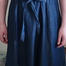 UNIQLO深藍色牛仔洋裝